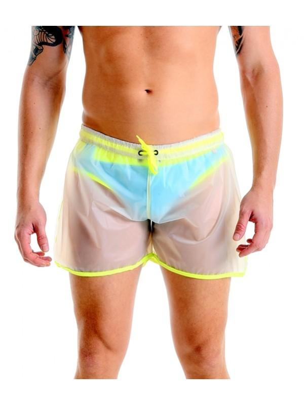 Short Shorts - Matte Plastic Yellow | Transparent