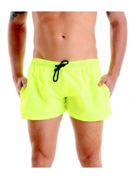 Short Shorts - Fluorescent Yellow