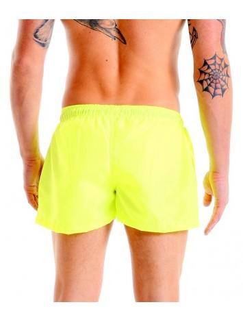 Short Shorts - Fluorescent Yellow