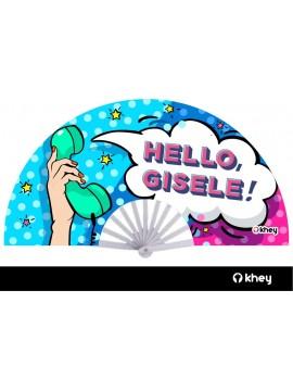 LEQUE GRANDE KHEY   HELLO GISELE - BRANCO