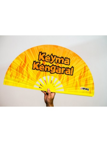 LEQUE GRANDE KHEY   KEYMA KENGARAL - AMARELO