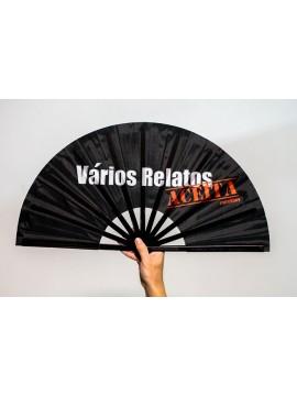 Vários Relatos Hand Fan - Black