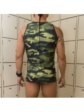 Dry Fit Tank top - Camouflage Superman
