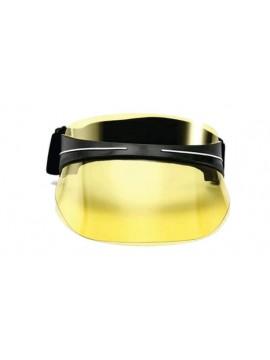 Viseira Luxo Ajustável UV400 - Amarelo