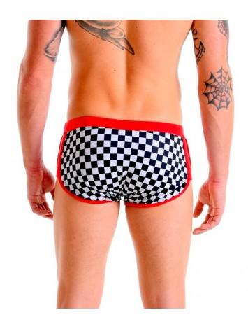 Boxer Trunks - SPEED | Checkered
